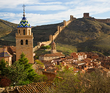View of Albarracin