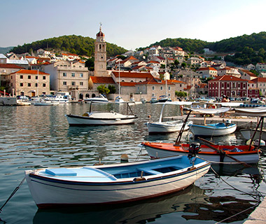 Pucisca on Brac Island, Croatia